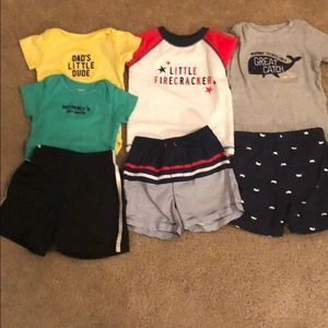 Carter's Baby Clothing with Swim shirt and trunks